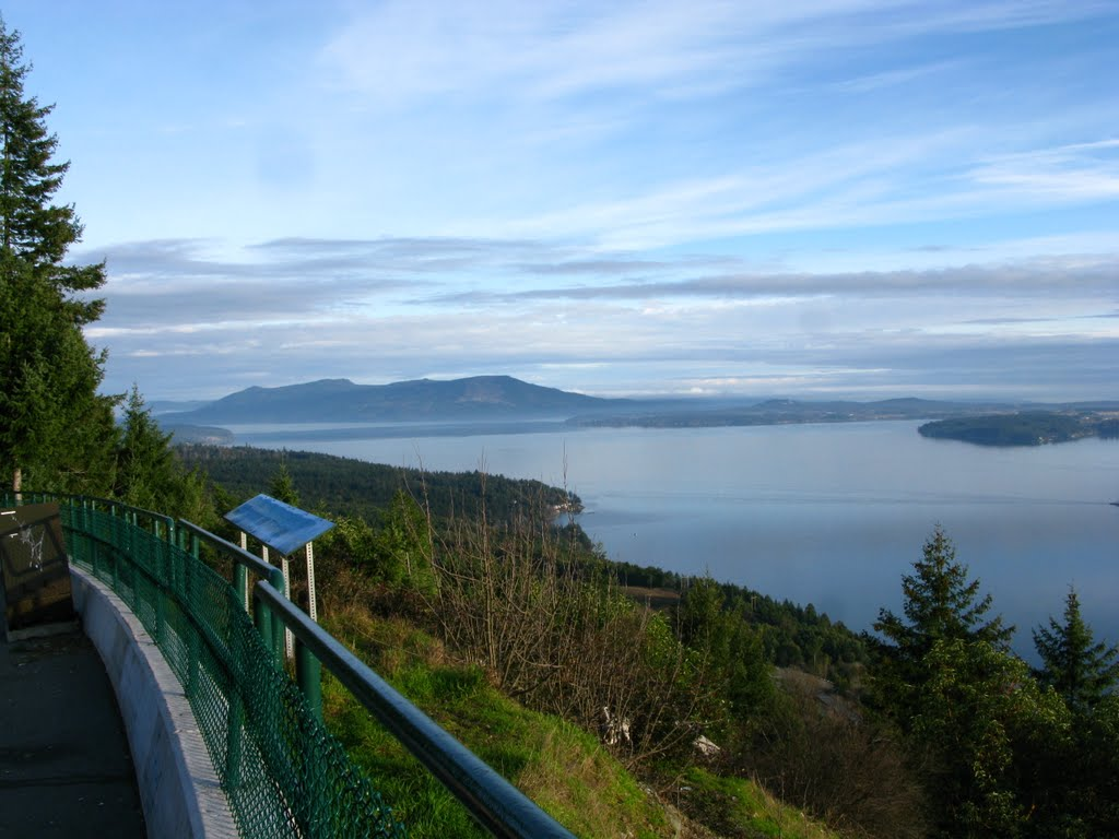 Malahat view point looking north.